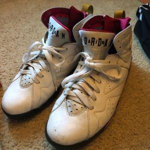 """2011 Jordan """"cardinal"""" 7s"""